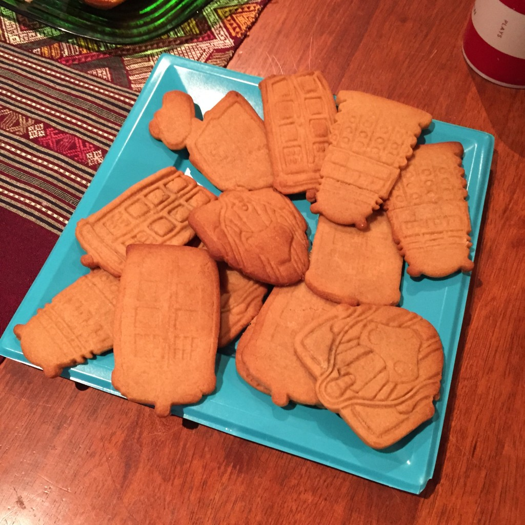 Doctor Who biscuits
